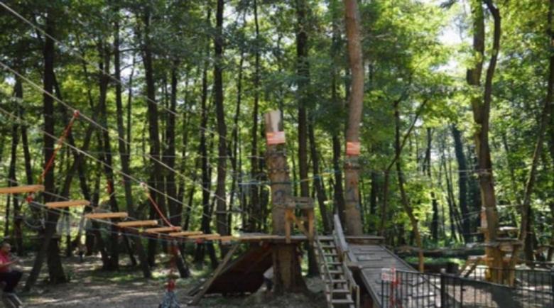 Въженият парк в Благоевград отваря на 1 март