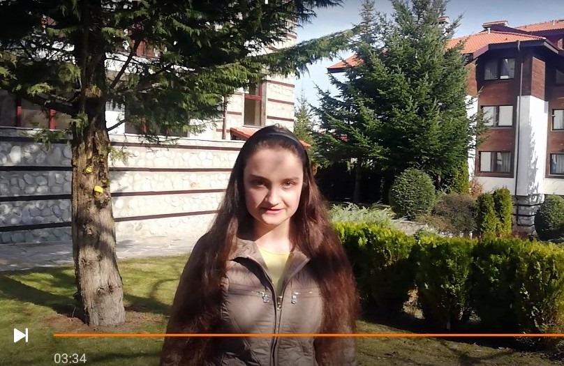Ученичка от Банско ще представи България на конкурс в Русия