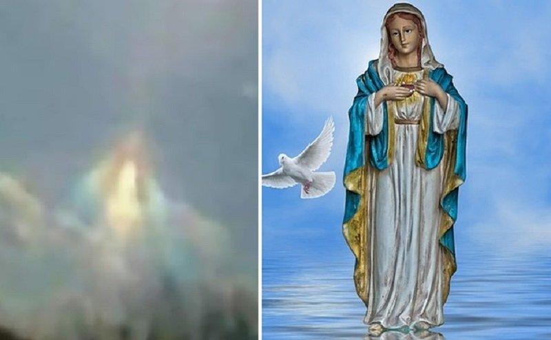 На Благовещение: Богородица се появила над Аржентина