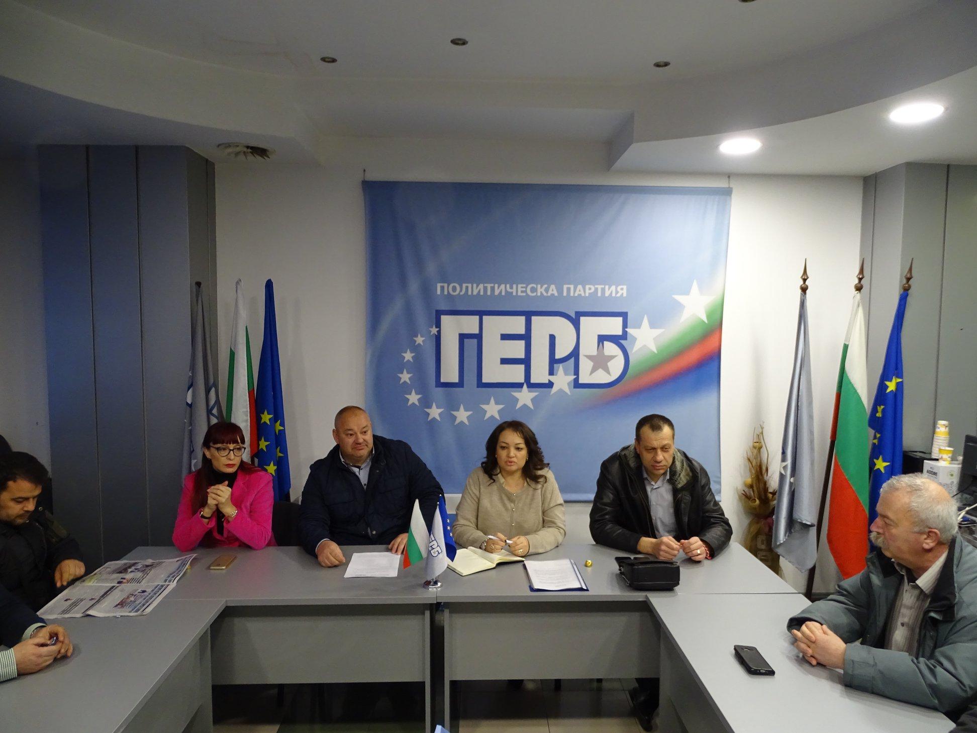 ГЕРБ с декларация срещу благоевградския кмет Румен Томов