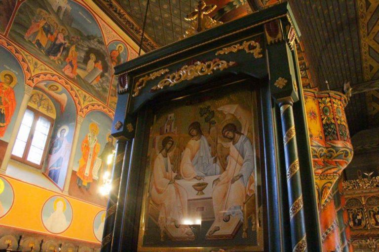 """В Банско освещават иконата """"Старозаветна Троица"""""""
