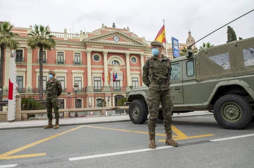 838 души починаха за денонощие в Испания