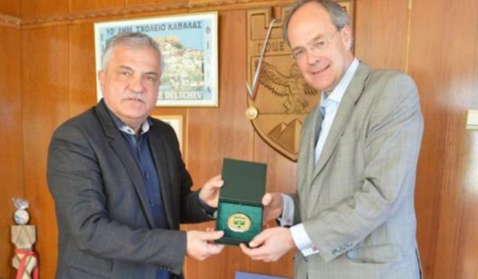Кметът на Гоце Делчев уговаря немския посланик за инвестиции