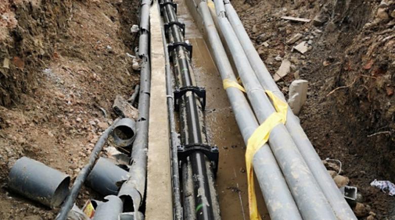 Водната прокоба удари Перник, новият водопровод пак даде фира