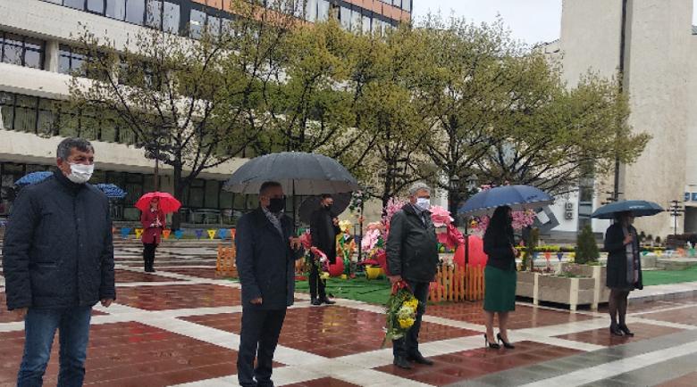 Благоевградчани отдадоха почит към Георги Измирлиев-Македончето