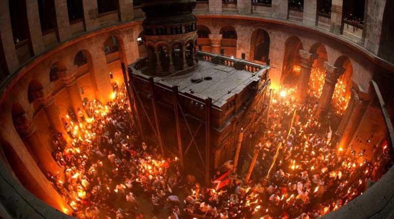 Благодатният огън ще стигне до всеки православен храм, въпреки пандемията