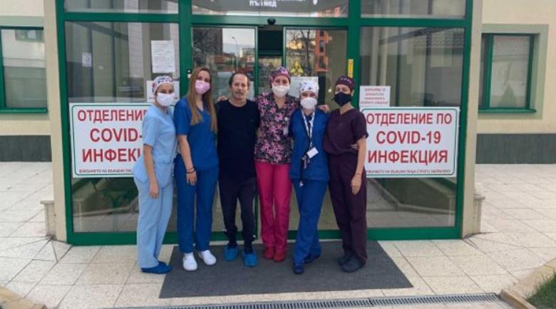 Лекари от Пловдив разказаха как са спасили тежкоболен от COVID-19