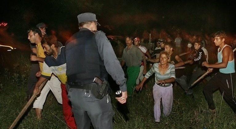 Цигани се млатиха заради булка в Благоевград