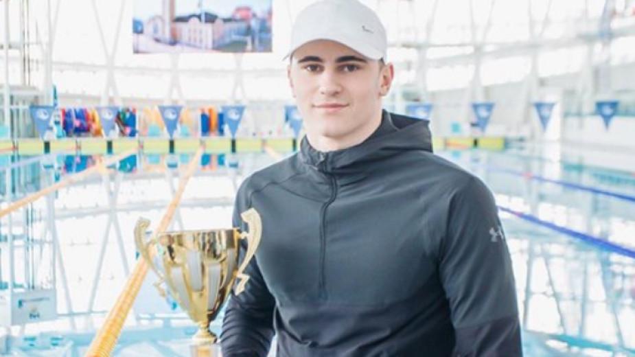 Плувецът Георги Цурев от Благоевград: Ще се боря за квота за Токио 2021