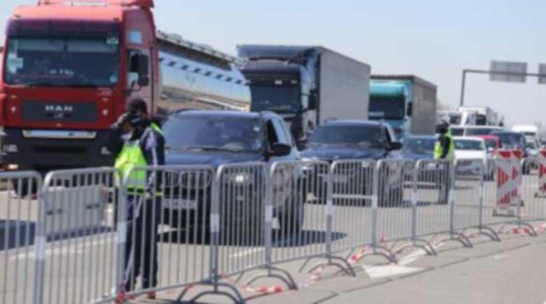 Слаб трафик към Кюстендил, всичко е спокойно