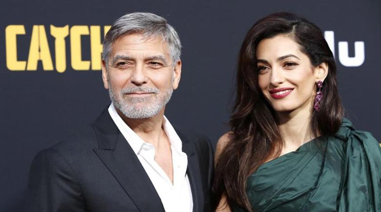 Джордж и Амал Клуни дариха над $1 милион за засегнатите от коронавируса
