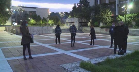Протест на собственици на заведения за хранене в Благоевград, никой не ги чу