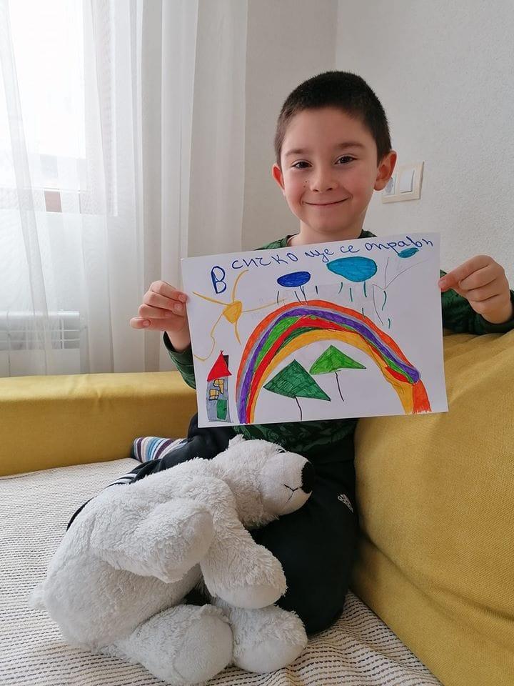 Рисунка на 5-годишния Валентин, с разложки корени, взриви социалните мрежи