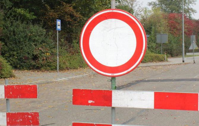 Пътят между Бело поле и Българчево е затворен за движение