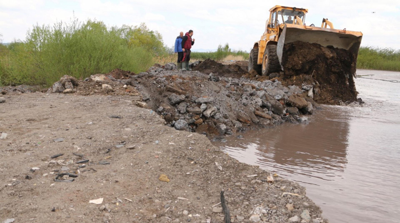 """След аварията: Започна демонтажът на шламопровода на """"Топлофикация Перник"""""""