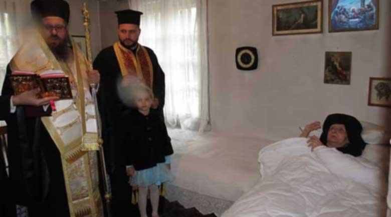 Най-възрастната монахиня – сестра Херувима отбелязва 100-годишен юбилей