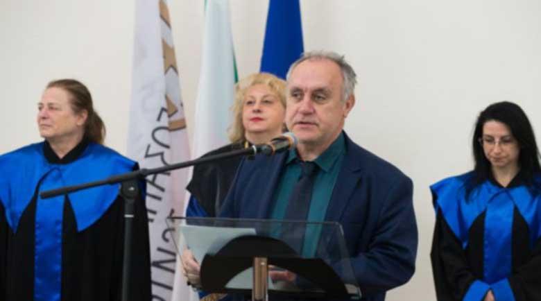 """Заместник-ректор на ЮЗУ с почетното звание """"Златен век"""""""