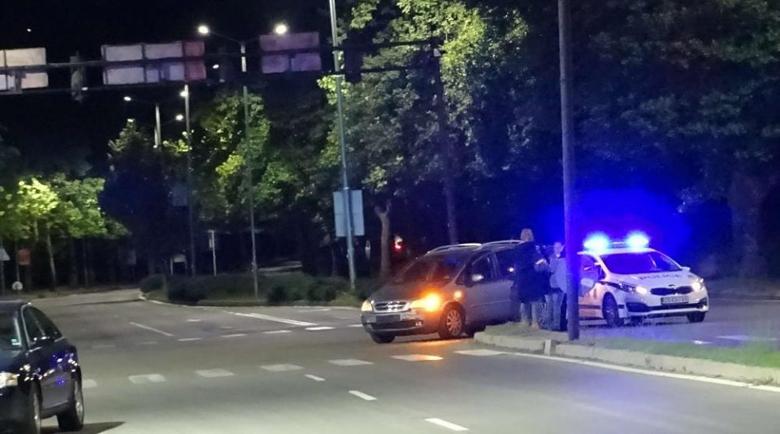 Катастрофа на кръстовище в Благоевград, 18-годишен водач пострада