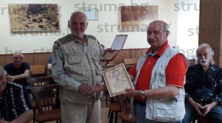 Ловците отличиха за заслуги бившия горски шеф Любен Коцаков