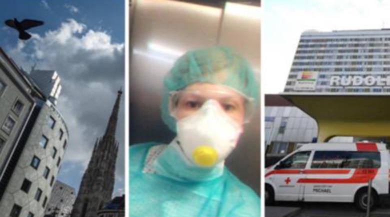 Мартина Бянов – една българска медицинска сестра срещу COVID-19 във Виена