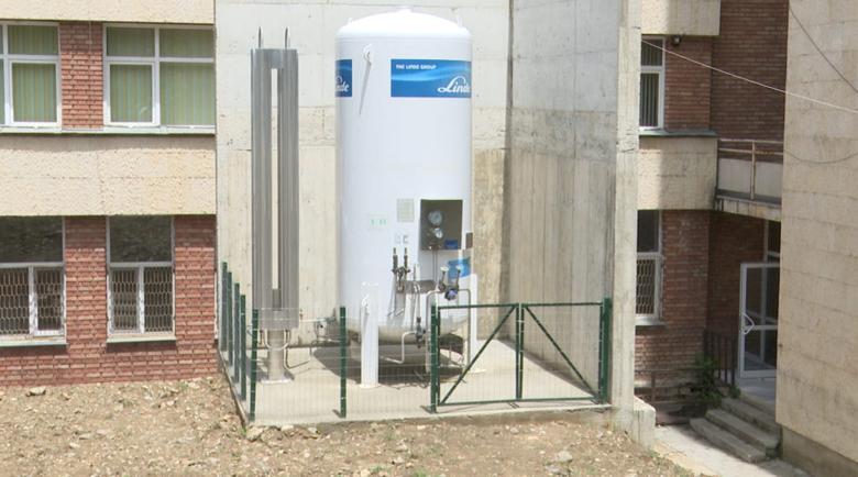"""Резервоар за кислород и смарт агрегат за МБАЛ """"Югозападна болница"""" – Петрич"""