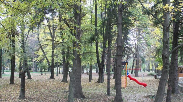Два дни без разходки в парка на Банско, ще махат изгнили дървета