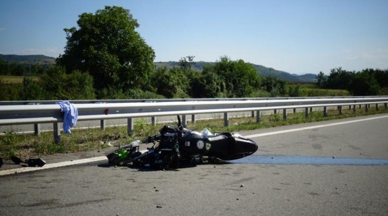 Моторист бере душа след катастрофа в посока Благоевград