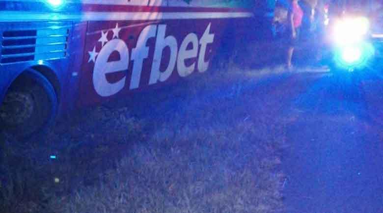 "Шофьорът на автобуса на ""Беласица"" почина зад волана, но спаси футболистите"