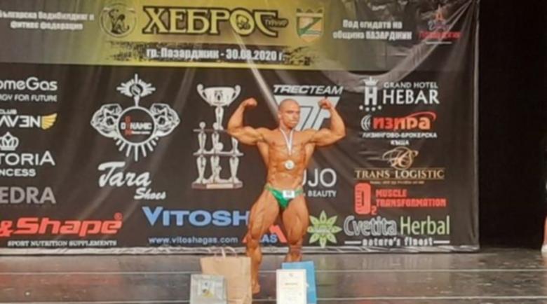 Владимир Димитров от Полето успя! Балкански шампион е по бодибилдинг
