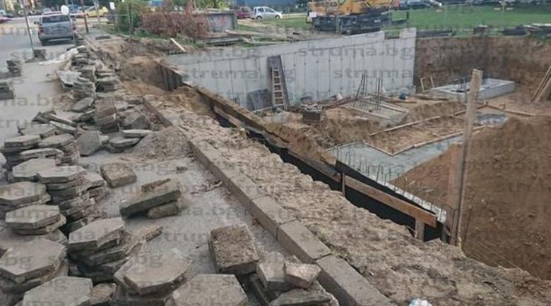 200 благоевградчани скочиха срещу строителство върху детска площадка