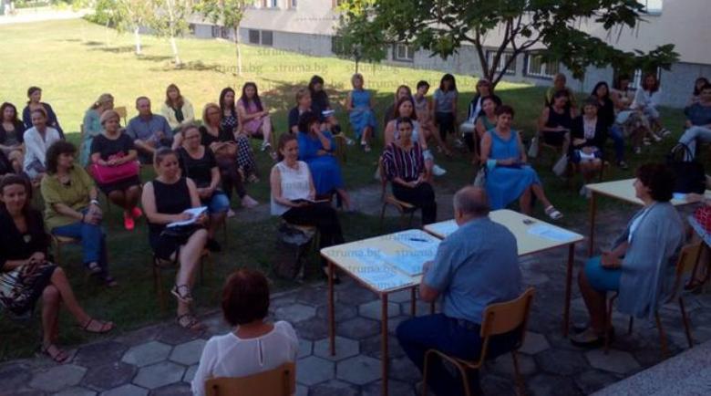 Учителите от благоевградското 8-о СУ по желание ще си правят тестове