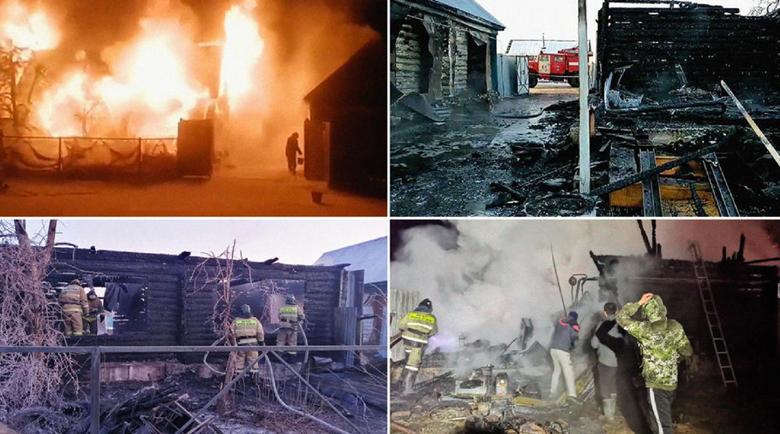 Трагедия в Башкирия: 11 жертви на пожар в старчески дом