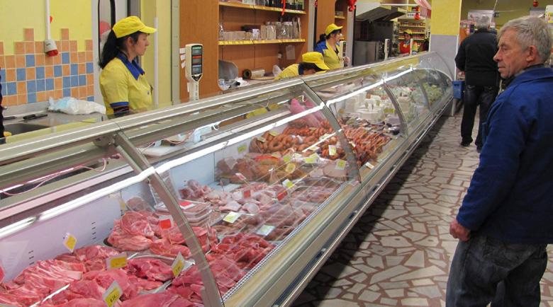 Пиринско води класацията по ръст в цените на хранителните стоки