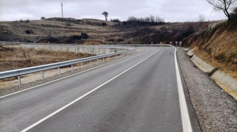 Завърши ремонтът на пътя за Мелник