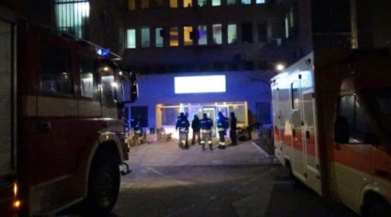 Горя климатик в болницата в Благоевград