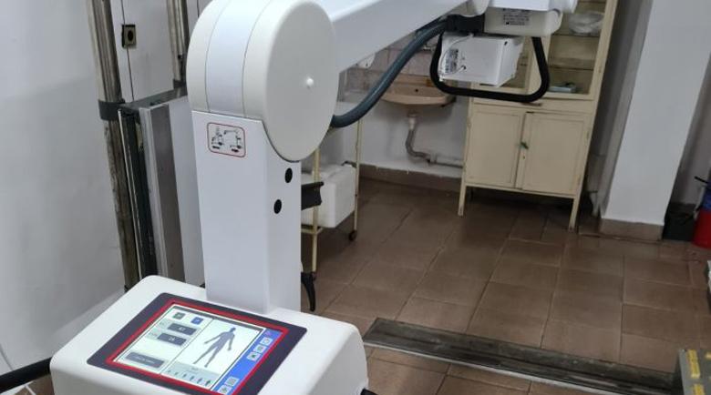 Болницата в Петрич вече с мобилен рентген и бактерицидни лампи