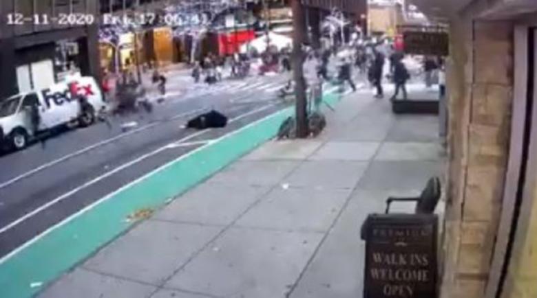 Шофьорка се вряза в протест в Ню Йорк, рани шестима