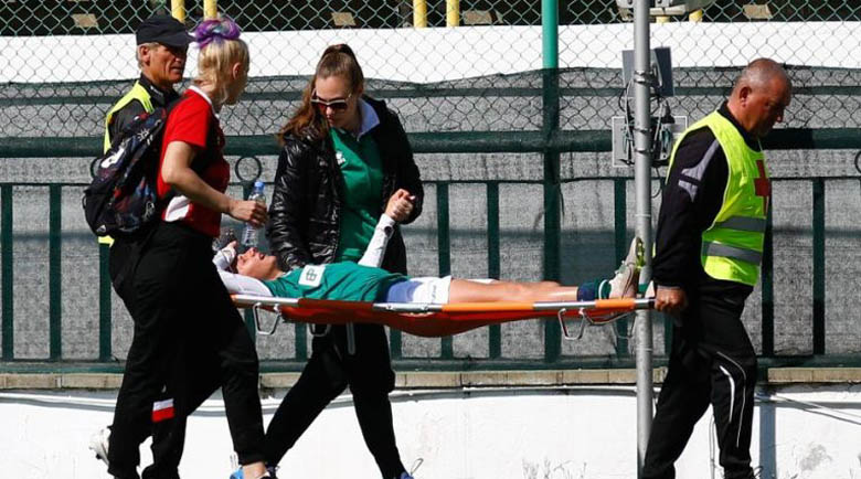 """Съперничка потроши националка от """"Пирин Лейдис"""", прати я в болница"""