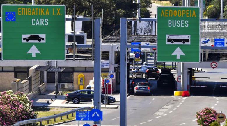 Засилен контрол по пътищата в Гърция от днес