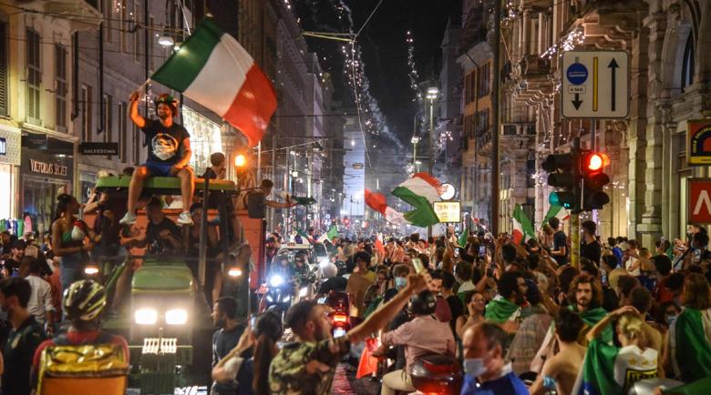Италия отпразнува бурно спечелената европейска титла