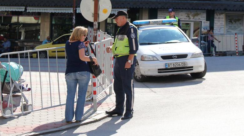 КАТ с акция в защита на пешеходците от днес