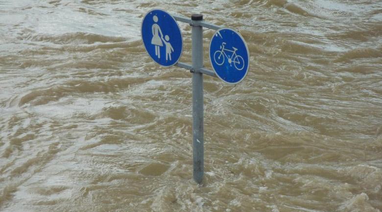 Апокалипсис! Потоп и пожари едновременно в Италия (Видео)