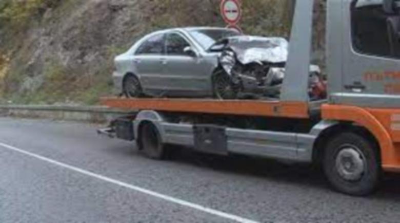 Тежка катастрофа затвори пътя Банско – Гоце Делчев