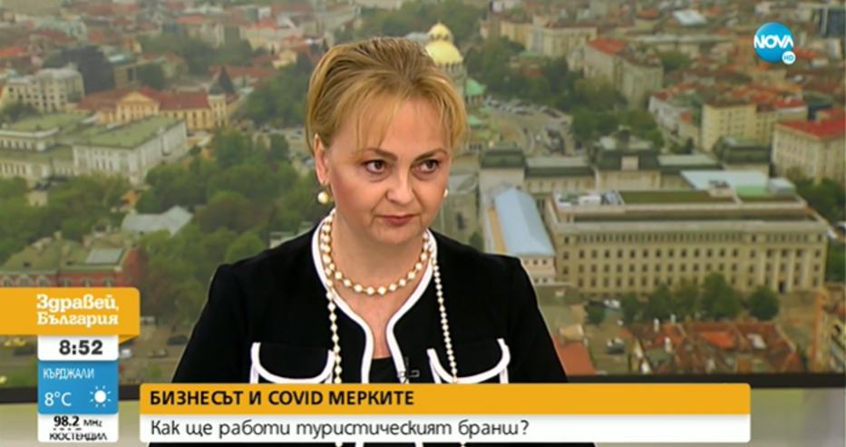 Карастоянова: Здравен сертификат да се иска и при влизане в супера, както в ресторанта