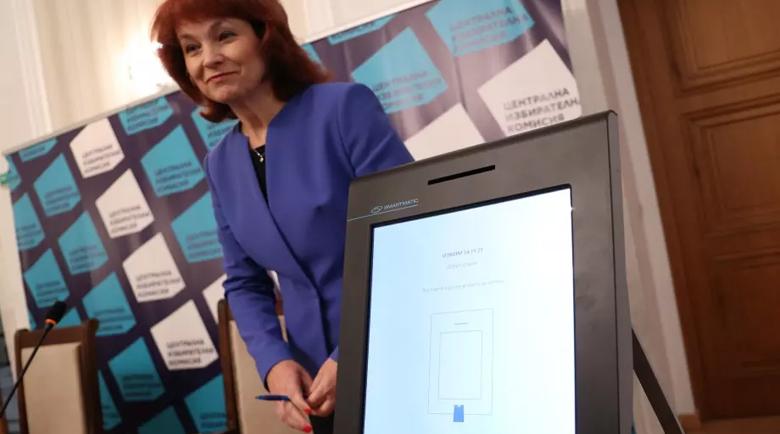 ЦИК показа как ще гласуваме машинно на изборите 2 в 1